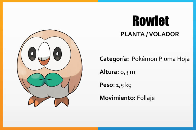 pokemon sol pokemon luna rowlet