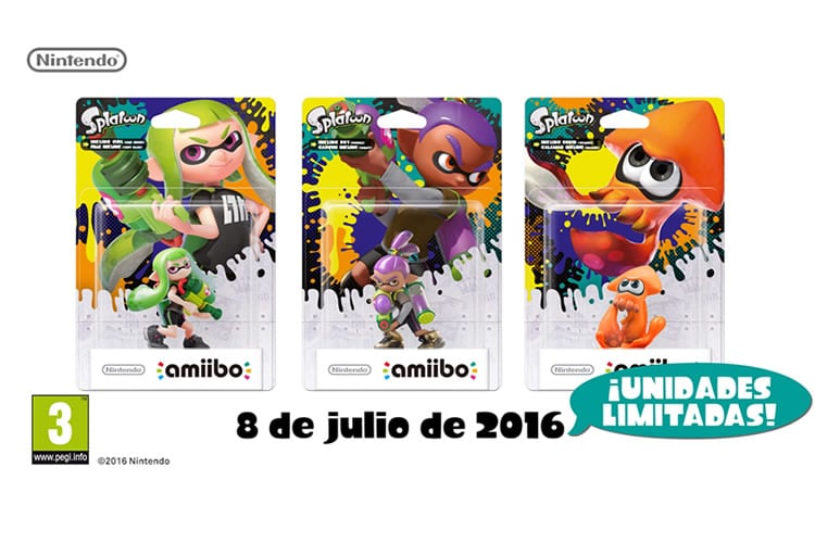splatoon amiibo exclusivo