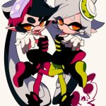 splatoon anime mar y tina