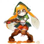 splatoon anime zelda