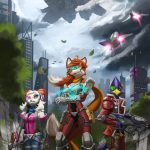 star fox anime chicas