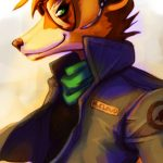 star fox anime fox 4
