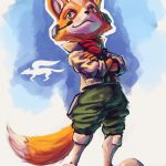 star fox anime fox 5