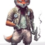 star fox anime realista