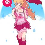 super mario anime peach