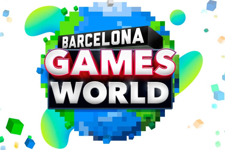 barcelona games world logo
