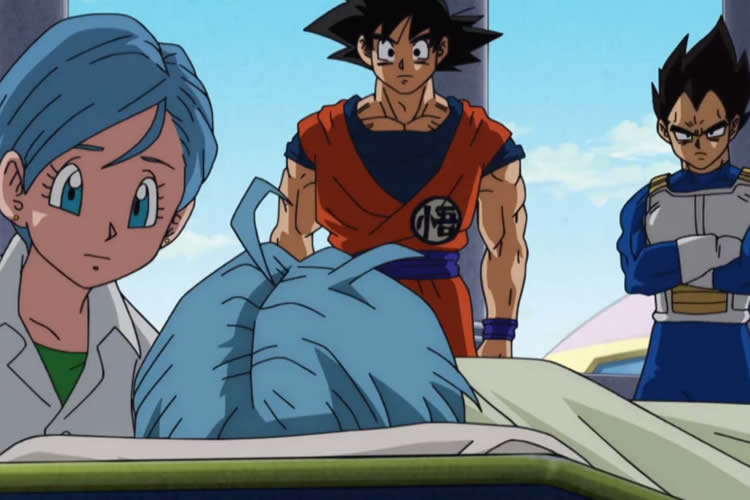 dragon ball super 48 trunks bulma goku vegeta