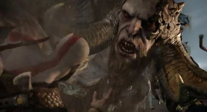 god of war trailer gameplay e3 2016