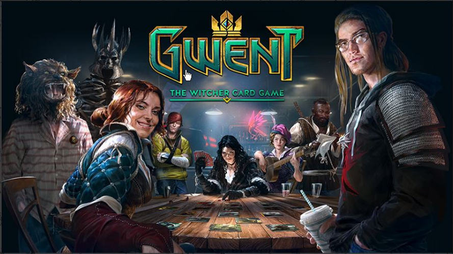 gwent the witcher 3 oficial e3 2016