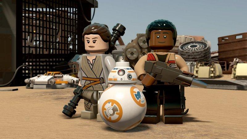 LEGO Star Wars: El Despertar de la Fuerza tiene un minijuego 8 bits