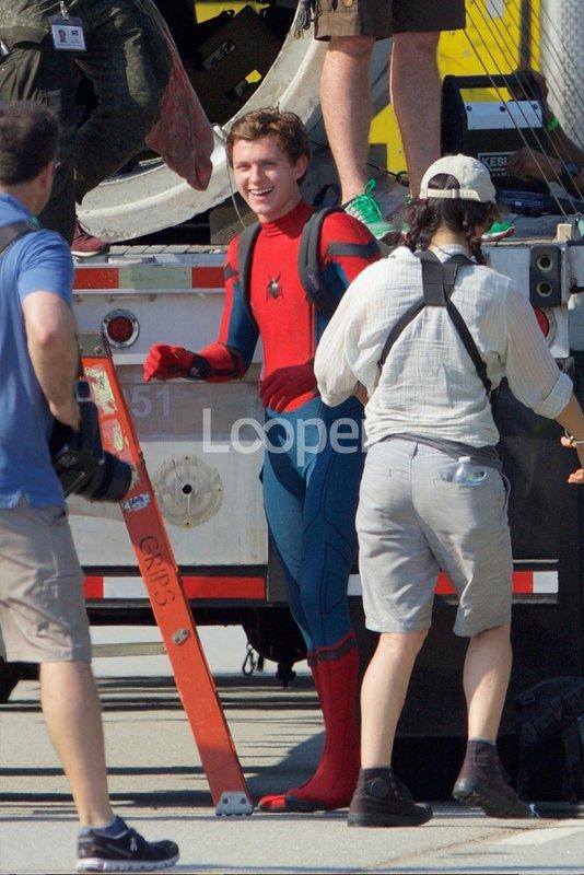 Aluvión de imágenes del rodaje de Spider-Man Homecoming