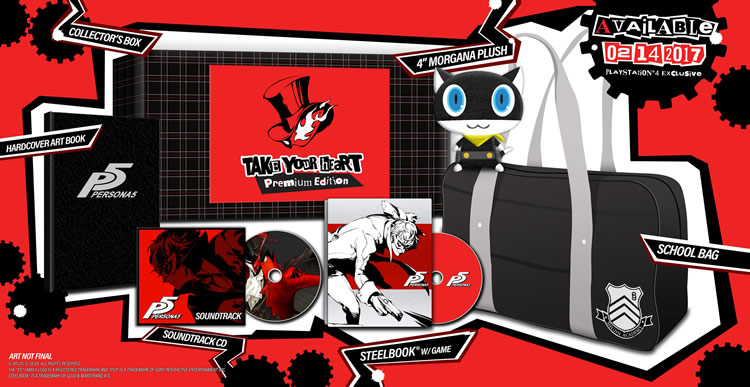take your heart premium edition persona 5