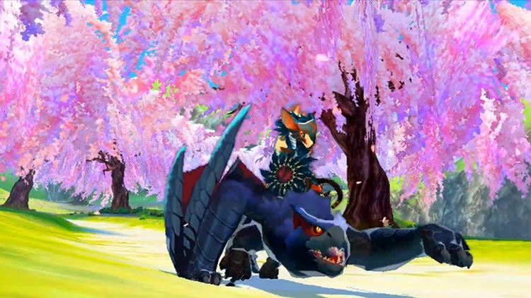 Monster Hunter Stories Nargacuga Tigrex Khezu