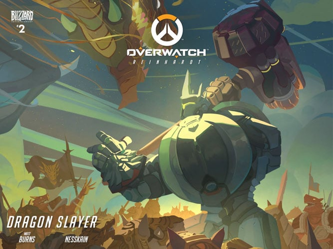 Dark Horse publicará los cómics y art books de Overwatch