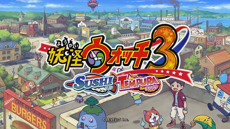 gameplay primera hora yo-kai watch 3