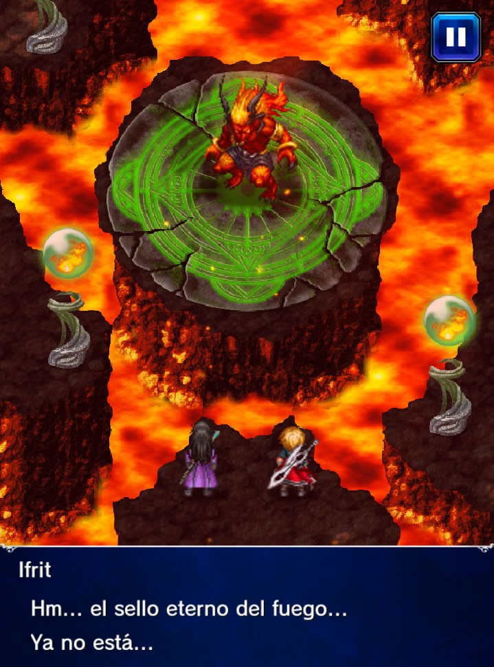 guia final fantasy Brave Exvius Ifrit 4