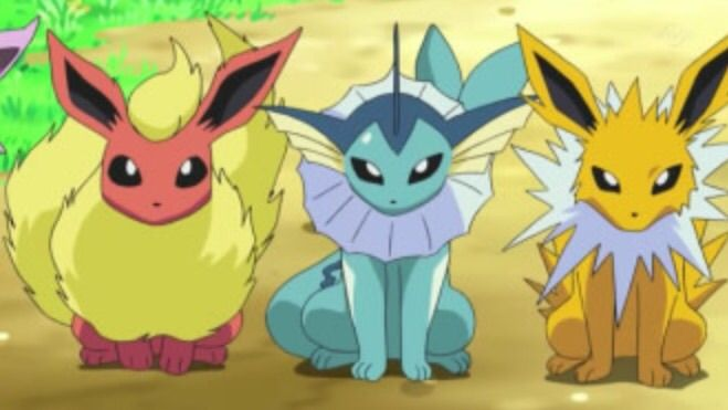 pokemon go jolteon flareon vaporeon