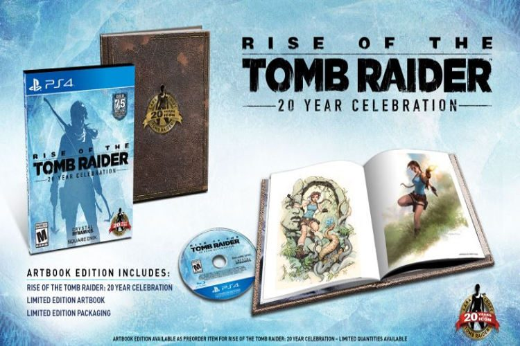 rise of the tomb raider 20 aniversario ps4