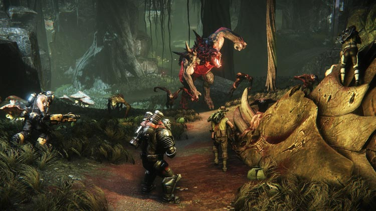 Evolve es ahora free-to-play en PC