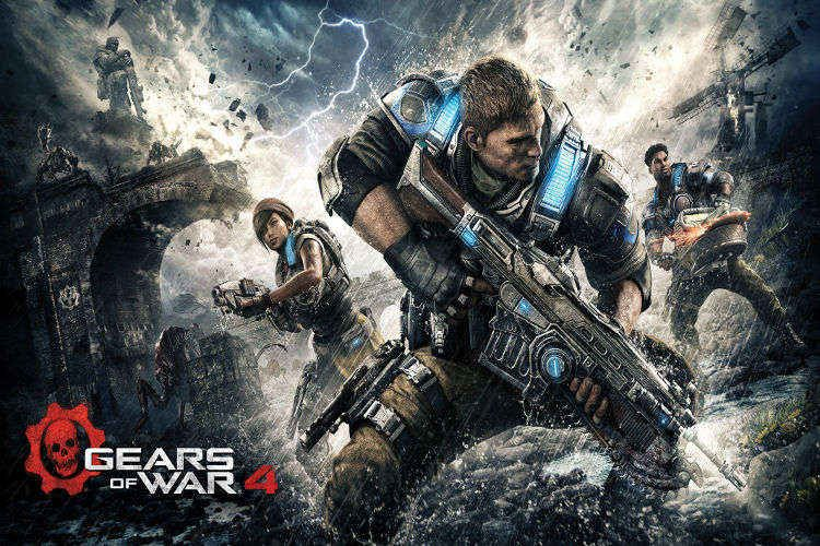 Gears of War 4: Llega un nuevo enemigo, y llega por aire, los DeeBees