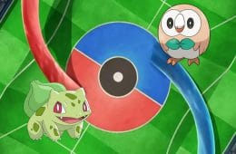 batalla pokemon bulbasaur vs rowlet