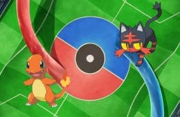 batalla pokemon charmander vs litten