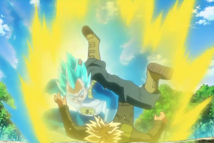 dragon ball super 54 vegeta vs trunks