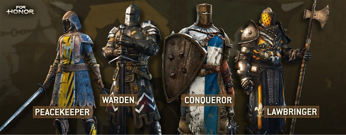 for honor alfa personajes modos