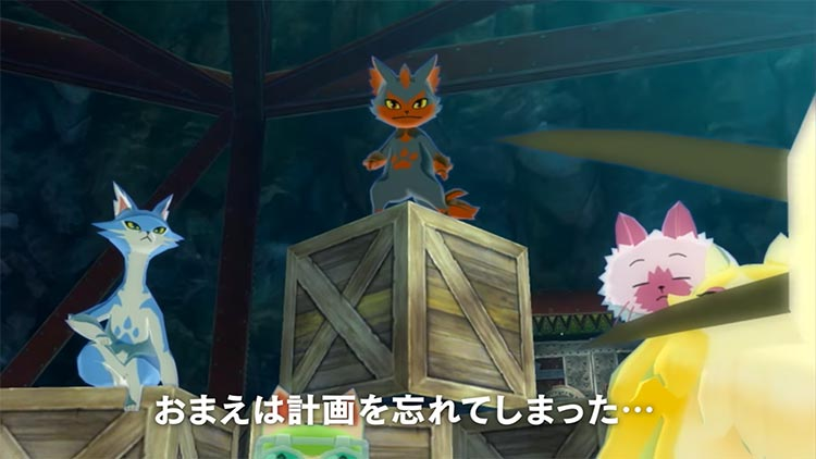 nuevo tráiler de monster hunter stories