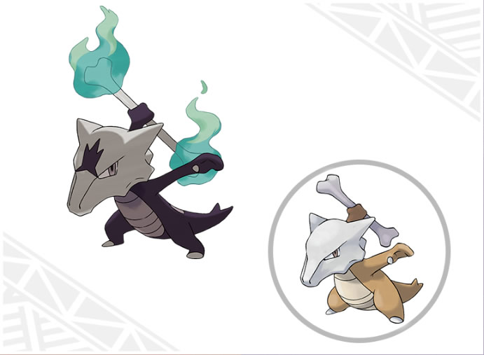 pokemon sol pokemon luna marowak alola