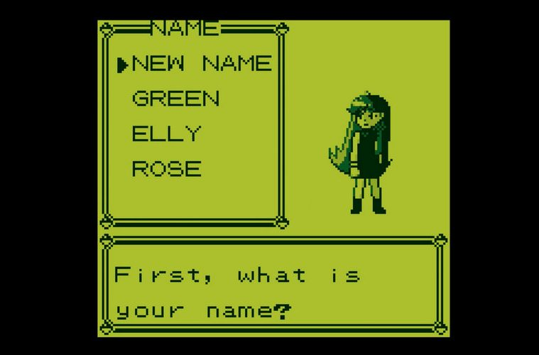 Pokémon Rojo Azul jugar como chica