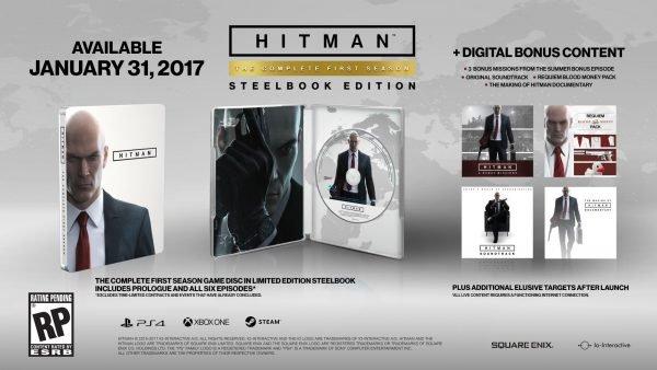 Hitman: la edición física completa llegará en enero