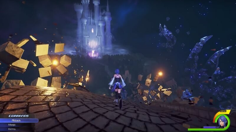 Kingdom Hearts HD 2.8 Final Chapter Prologue gameplay