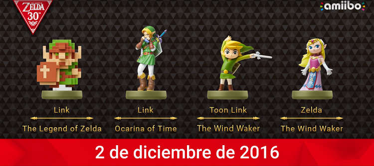 the legend of zelda 30 aniversario amiibo