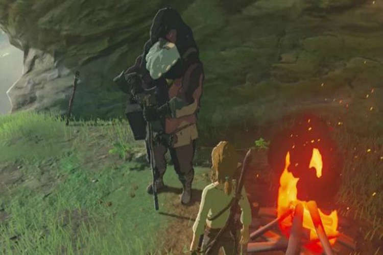 Similitudes entre Zelda breath of the wild y el original