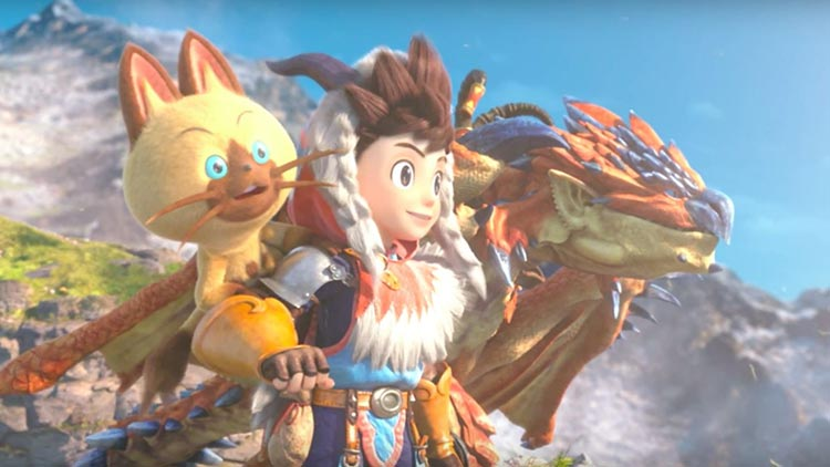 monster hunter stories trailer lanzamiento japones