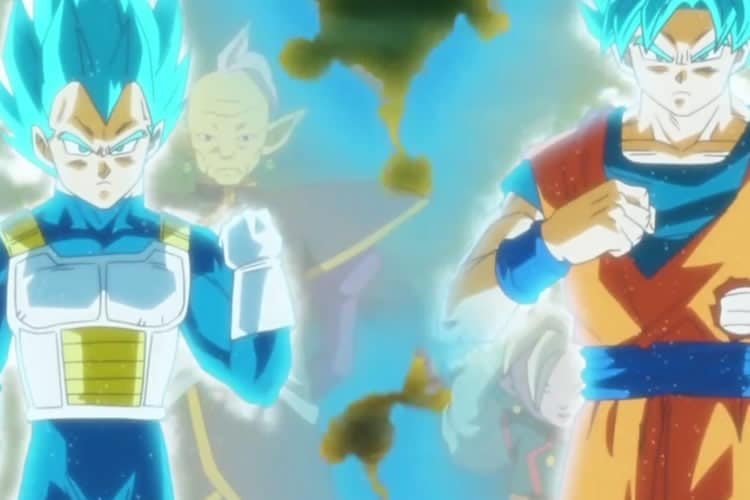 dragon ball super black goku y vegeta