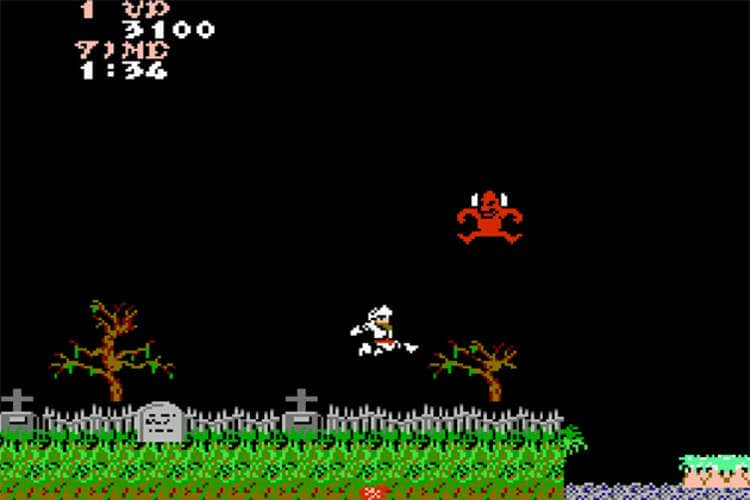 ghosts n goblins bitback