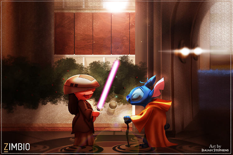 personajes disney star wars