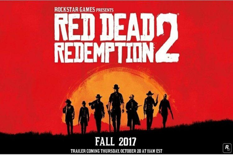 red dead redemption 2 anuncio oficial