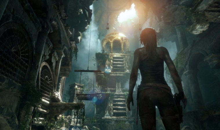 Tomb Raider gameplay VR