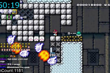 YouTuber emplea 60 horas para superar un nivel de Mario Maker
