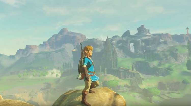 Zelda Breath of the Wild lanzamiento Nintendo Switch