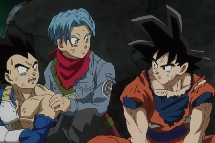 dragon ball super 66 goku vegeta trunks