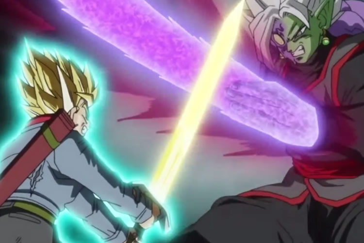 dragon ball super 66 trunsk zamasu