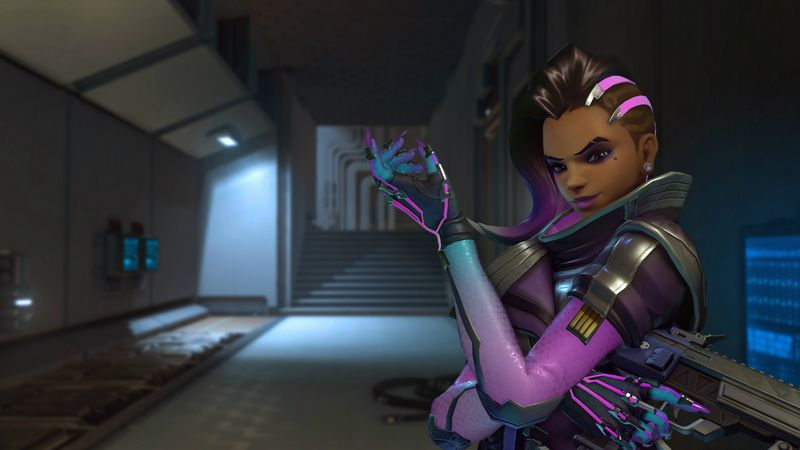 Overwatch Sombra gameplay