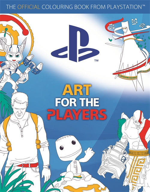 playstation libro colorear