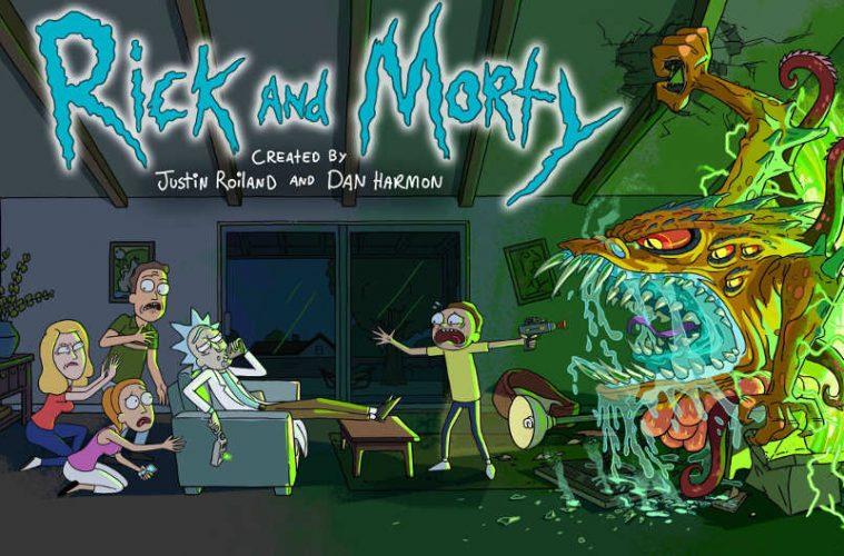 Rick y Morty parodian películas populares en Stop Motion