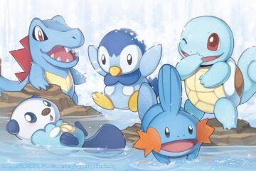 top pokemon iniciales tipo agua