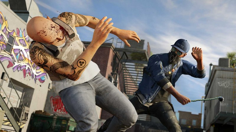 Watch Dogs 2 baneo